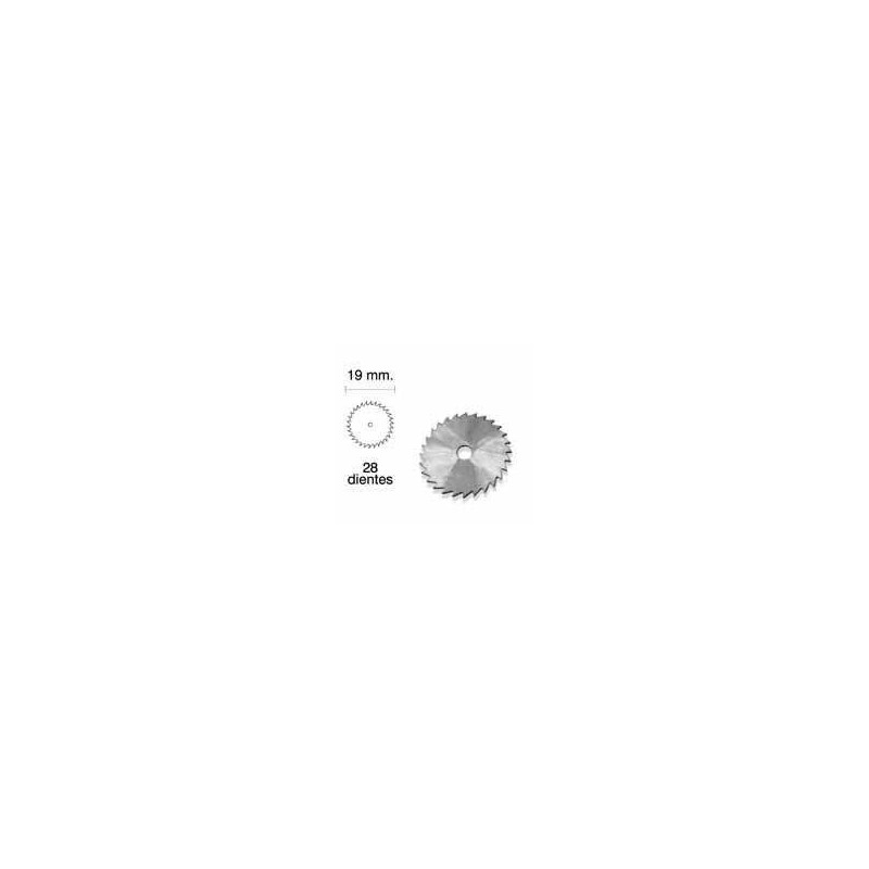 Mini sierra circular R485 - 19 mm