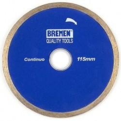 "Disco diamantado continuo 4 1/2"" BREMEN 4525"