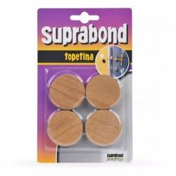 Topetina circular marron SUPRABOND
