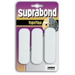 Topetina rectangular blanca SUPRABOND