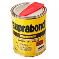 Adhesivo de contacto SUPRABOND 1/4 litro TRANSPARENTE
