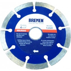 "Disco diamantado laser 7"" BREMEN 4529"