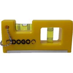"Nivel imantado DOGO llavero 4"""