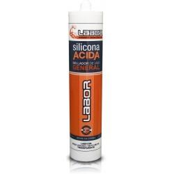 Silicona acida transparente LABOR 280 ml