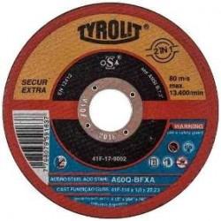 "Disco TYROLIT 4.1/2"" x 1 mm"