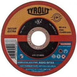 "Disco TYROLIT 9"" x 1,9 mm"