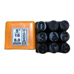 Numeros para marcar 8 mm