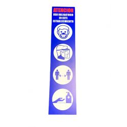 Cartel de prevencion COVID19
