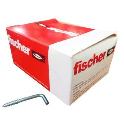 Pitones Fischer escuadra 6 mm