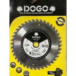 """Disco con dientes de widia 4.1/2"""" DOGO 57195"""