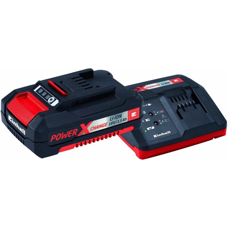 Kit Starter Einhell Cargador + Bateria 18V