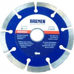 """Disco diamantado laser 4 1/2"""" BREMEN 4525"""