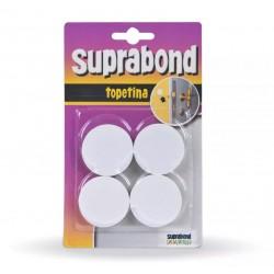 Topetina circular blanca SUPRABOND
