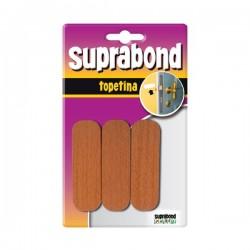 Topetina rectangular marron SUPRABOND